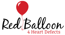 Red Balloon 4 Heart Defects